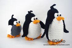 Tip-top Penguins amigurumi pattern by IlDikko