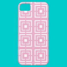 Pink Lattice iPhone 5 Cover