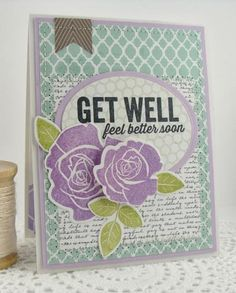 Get Well by Simply Handmade - Cards and Paper Crafts at Splitcoaststampers