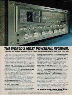 Marantz 2500 - Vintage Audio Ads - classicaudio.com