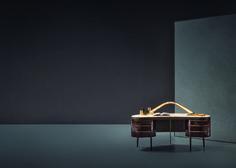 Scrivania Kara By Natevo+ Axonometry by Elisa Giovannoni