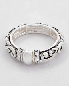 Filigree Design Ring