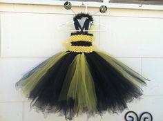 Complete bee tutu costume