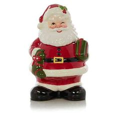Buy George Home Santa Cookie Jar from our Kitchen & Food Storage range today from George at ASDA. Christmas 2019, All Things Christmas, Christmas Home, Vintage Christmas, Christmas Gifts, Christmas Ideas, Christmas Cookie Jars, Christmas Ornaments, Asda