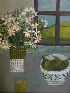 Este MacLeod still life with wild flowers