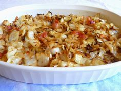 SPLENDID LOW-CARBING BY JENNIFER ELOFF: CABBAGE AND BACON STIR FRY - the best combo for cabbage! Used the inner cores of cabbage after making cabbage rolls ~ Jen Visit us at: https://www.facebook.com/LowCarbHitParade