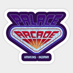 Shop Stranger Things Palace Arcade stranger things stickers designed by rustenico as well as other stranger things merchandise at TeePublic. Bubble Stickers, Cool Stickers, Printable Stickers, Laptop Stickers, Funny Stickers, Stranger Things Tumblr, Stranger Things Season, Stranger Things Netflix, Arcade