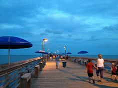 Garden City Pier, SC  One of my favorite places at the beach! Many memories there. :) -DNP
