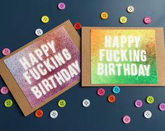 Log in to your Etsy account. Birthday Cards, Happy Birthday, Cards For Friends, First Names, Handmade Cards, Create Yourself, Etsy, Bday Cards, Happy Brithday