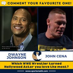 Who's your favourite #WWE #wrestler? The #Rock has the most fans but do you love #JohnCena too? Comment your favourite one! #wrestlers #wrestlerlife #prowrestler #indywrestler #wweraw #wweuniverse #wwesmackdown #wwenext #wwepayback #wwememes #wweelitesquad #wwenetwork #wweedits #wwelive #wwechampion #wwesuperstar #wwenews #wwechampionship #wwefan #wwf #wwerestling #wwerestlemania #sportsmatik #dwaynejohnson