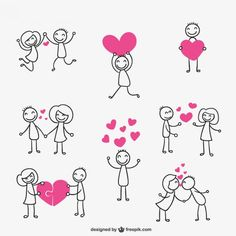 Stick figure love