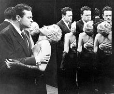 "Rita Hayworth & Orson Welles / ""The Lady From Shanghai"""