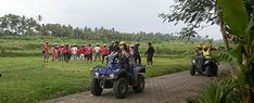 Outbound Bali yang dikemas dengan kombinasi berbagai wisata adventure yaitu paintball, atv ride, cycling, dan berkahir dengan puncak acara camping di Ubud Camp