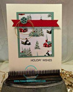 Home For Christmas - #hollyjollystampset