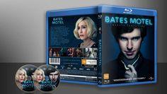 Bates Motel - Quarta Temporada (Blu-Ray) - Capa   VITRINE - Galeria De Capas - Designer Covers Custom   Capas & Labels Customizados