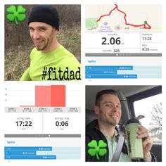 I was sporting my green for St. Patrick's Day on my lunch run today.  It was a bit colder so a hat was needed, but still wore shorts. Mixed me up a shamrock shake..... Err no.  I had my green superfood Shakeology smoothie with kale for the natural green color.  Have a safe and blessed day!  Stay hydrated! #fitdad #beachbodycoach #run #runner #NSNG #stpatricksday #shakeology #smoothie #blend #kale #selfie #me #smile #altrarunning #altra #lunchrun #GoldenScoop