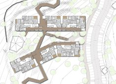 Gallery of Zielony Graduate Student Village / Schwartz Besnosoff Architects + Bar Orian Architects - 35 School Plan, Student House, Bar, Planer, Graduation, How To Plan, Architecture, Gallery, College