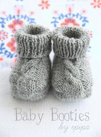 epipa: Strickanleitung Baby Booties Not in English but I WILL translate it. :)