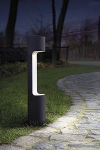 Garden bollard light / contemporary / metal / halogen GEORGE by Rotorgroup Modular Lighting Instruments