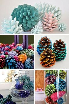 Easy Pine Cone Projects More projekte beton, Building And Installing Diy Concrete Countertops Pine Cone Art, Pine Cone Crafts, Pine Cones, Holiday Crafts, Christmas Crafts, Xmas, Painted Pinecones, Diy Concrete Countertops, Pine Cone Decorations