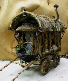 Fairy caravan gypsy