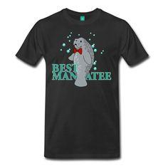 Wedding Manatee, Best Man T-Shirt | Cotton Canvas
