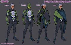 Inhuman ROYALS' New Clothes: JONBOY MEYERS Goes Inside Design Process