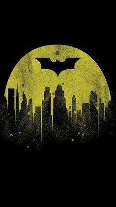 Batman City iPhone Wallpaper - iPhone Wallpapers