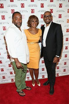 """Lee Daniel, Gayle King, and Forest Whitacre - Red Carpet Photos:  O's Screening of Lee Daniels' """"The Butler""""  #OWNer"""