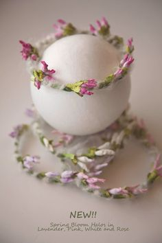 NEW Spring Bloom Halo Newborn Photo Prop Floral by ItsyBitsyBlooms, $15.00