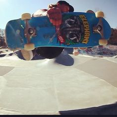 """""""Screen grab, Frontside Air, Groton, CT / Photo by @markchoiniere"""""""