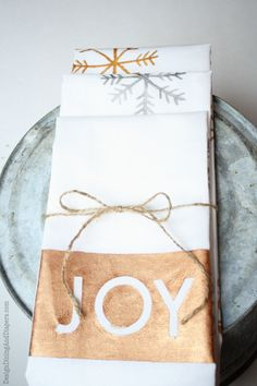Hand Painted Christmas Dish Towels                                                                                                                                                                                 More