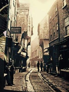 Old picture Duke Of York, Past Life, Old Pictures, Great Britain, Old Town, United Kingdom, Medieval, England, Street View