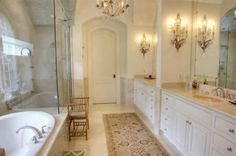 master bathrooms ideas pictures | Master Bathroom Lighting Designs | Architecture and Home Decorating