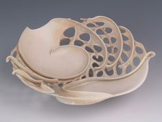 Clare Wakefield Ceramic Art click the image or link for more info. Ceramic Clay, Ceramic Bowls, Ceramic Pottery, Pottery Art, Wakefield, Clay Bowl, Keramik Vase, Pottery Sculpture, Paperclay