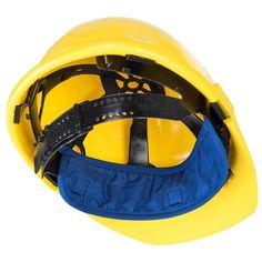 Banda refrescante para el casco Hard Hats, Color Azul, Weather Conditions, Bicycle Helmet, Cap, Extreme Heat, Welding, Water