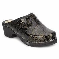 Buy Le comptoir scandinave SABOTYIN women's Clogs (Shoes) in Black / GOLD £37.54 from Women's Clogs range at #LaBijouxBoutique.co.uk Marketplace. Fast & Secure Delivery from Spartoo.co.uk online store.