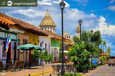 http://OkGranada.com #Follow @aogphotography: La Calzada #Granada #Nicaragua #ILoveGranada #AmoGranada #Travel #CentralAmerica #GranadaNicaragua #architecture #colonial