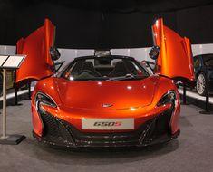 #McLaren 650S at the #London Motor Show