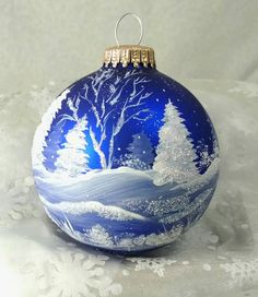 Check out this item in my Etsy shop https://www.etsy.com/listing/483045517/winter-scene-winter-trees-and-snow-royal