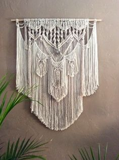 Hippie Decor Boho Decor Gypsy Decor Macrame Wall Hanging