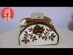 DIY Tutorial portatorta in feltro - cake holder in felt Cake Holder, How To Make Cake, Diy Tutorial, Make It Yourself, Big Shot, Blog, Crates, Projects, Crafts