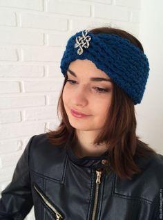 Вяжем повязку-чалму крючком, фото № 29 Knitted Hats, Beanie, Knitting, Accessories, Modeling, Simple, How To Knit, Head Bands, Caps Hats