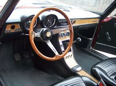 1971 Alfa Romeo GTV 1750.  Look at that great, early '70s interior!