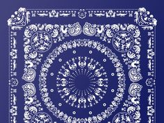 More than 400 monsters, obnoxious creatures, and other bad boys enliven this celebration of the paisley-rich bandanas of yesteryear. BADbandana