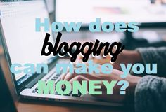 How does blogging can make you money? #adnetworks. #affiliatemarketing #earnfromhome joyfulsource.com/how-does-blogging-can-make-you-money/