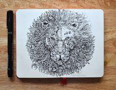Increíbles ilustraciones hechas en libretas   http://www.caracteres.mx/increibles-ilustraciones-hechas-en-libretas/