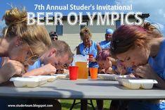 Beer Olympics Games: Every Man for Himself Scoring #teamstuder #beerolympics