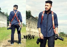 Detective.mov Shoulder strap camera Natural vegtan with secret colouring  More info follow @hallodotmov .mov on twitter