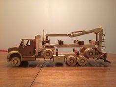 Wooden Truck, Wood Toys, Trucks, Projects, Truck, Wooden Toy Plans, Log Projects, Blue Prints, Wooden Toys
